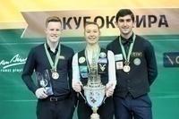 Перепечаева, Стайер и Абрамов – Победители «Кубка Кремля» 2019!